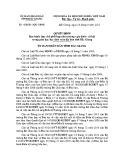 Quyết định số: 420/2015/QĐ-UBND