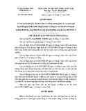 Quyết định số: 2642/QĐ-UBND