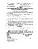 Quyết định số: 39/2014/QĐ-UBND