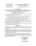 Quyết định số: 38/2014/QĐ-UBND