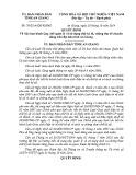 Quyết định số: 39/2014/QĐ-UBND tỉnh An Giang