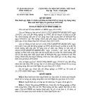 Quyết định số: 48/2015/QĐ-UBND tỉnh Nghệ An