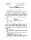 Quyết định số: 1771/QĐ-UBND
