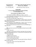 Quyết định số: 473/2015/QĐ-UBND