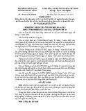 Nghị quyết số: 105/2015/NQ-HĐND