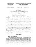 Quyết định số: 26/2015/QĐ-UBND tỉnh Lạng Sơn