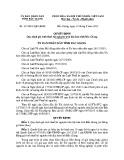 Quyết định số: 337/2015/QĐ-UBND