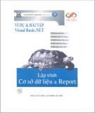 Ebook Lập trình cơ sở dữ liệu & Report: Phần 1