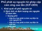 Bài giảng Phổ phát xạ nguyên tử ghép cặp cảm ứng cao tần (ICP-OES)