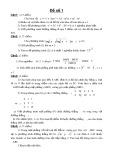 Tuyển tập 150 đề thi thử đại học môn Toán (Năm 2011 - 2012)
