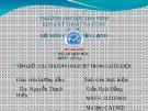 Bài thuyết trình: Tìm hiểu các phương pháp bù trong lưới điện