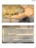 Bài giảng Học sap 2000