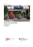 Quản lý nhu cầu giao thông (Tài liệu giảng dạy)