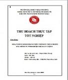 Thu hoạch thực tập tốt nghiệp: Hoạt động kinh doanh, phân phối sản phẩm thuốc của Công ty TNHH Dược phẩm An Vượng