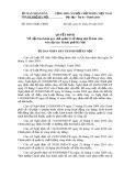 Quyết định số: 29/2013/QĐ-UBND