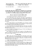 Quyết định số: 32/2013/QĐ-UBND thành phố Hà Nội