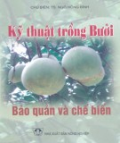 Ebook Kỹ thuật trồng bưởi - Bảo quản và chế biến: Phần 1