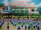Bài giảng Tập đọc (Lớp 2): Sáng kiến của bé Hà - GV. Phùng Thị Thuý Mai