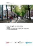 Giao thông bền vững (Module 5g): Giao thông đô thị và sức khỏe