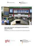 Giao thông bền vững (Module 2c): Quản lý giao thông tĩnh: Sự đóng góp tới các thành phố có thể sinh sống được