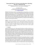 Phương pháp phân tích ưu tiên hoá trong hệ thống quản lý mặt đường: Tổng quan và hướng phát triển