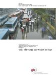 Giao thông bền vững (Module 3c): Điều tiết và lập quy hoạch xe buýt