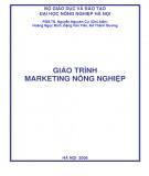 Giáo trình Marketing nông nghiệp: Phần 1