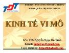 Bài giảng Kinh tế vi mô - ThS. Nguyễn Ngọc Hà Trâm