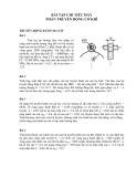Bài tập Chi tiết máy phần: Truyền động cơ khí