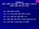Bài giảng Xử lý tín hiệu số: Chương 3 - TS. Vũ Văn Sơn