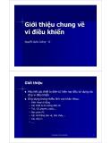 Bài giảng Giới thiệu chung về vi điều khiển - Nguyễn Quốc Cường