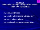 Bài giảng Xử lý tín hiệu số: Chương 4 - TS. Vũ Văn Sơn
