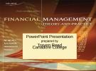 Bài giảng Management theory and practice Financial: Chương 18