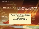 Bài giảng Management theory and practice Financial: Chapter 15