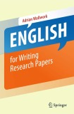 Ebook English for Writing Research Papers