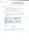 Đề thi Tin học ứng dụng trình độ B (Phần Thực hành)