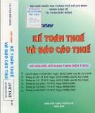 Giáo trình Kế toán thuế và báo cáo thuế: Phần 13
