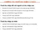 Bài giảng Thuế và hệ thống thuế tại Việt Nam: Chương 7 - Nguyễn Thu Hằng