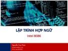 Bài giảng Lập trình hợp ngữ: Intel 8086 - Nguyễn Duy Phúc