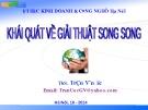Bài giảng Khái quát về giải thuật song song