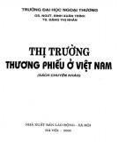 Ebook Thị trường thương phiếu ở Việt Nam (sách chuyên khảo): Phần 1