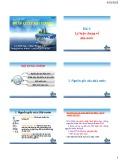 Bài giảng Pháp luật đại cương: Bài 1 -  Lưu Minh Sang