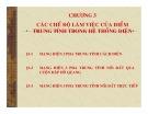 Bài giảng Chương 3: Các chế độ làm việc của điểm trung tính trong hệ thống điện