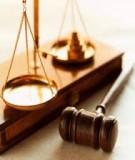 Đề cương bài giảng Nghiên cứu hồ sơ vụ án dân sự - ThS. Trần Minh Tiến