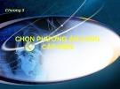 Bài giảng Chương 3: Chọn phương án cung cấp điện