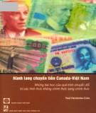 Những bài học của quá trình chuyển đổi từ các hình thức không chính thức sang chính thức - Hành lang chuyển tiền Canada - Việt Nam: Phần 2