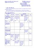 Đề kiểm tra học kì 1 môn Toán lớp 6 năm 2013-2014 - Trường THCS Kim Đồng