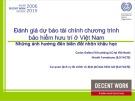 Báo cáo: Đánh giá dự báo tài chính chương trình bảo hiểm hưu trí ở Việt Nam: Những ảnh hưởng đến biến đổi nhân khẩu học