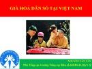 Báo cáo: Già hoá dân số tại Việt Nam