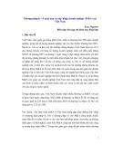 Khung pháp lý về mua bán và sáp nhập doanh nghiệp (M&A) tại Việt Nam